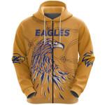 West Coast Zip Hoodie Eagles Indigenous TH5