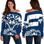 Cats Off Shoulder Sweater TH4