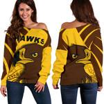 Hawks Off Shoulder Sweater TH4