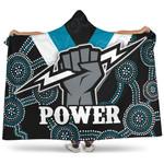 Port Adelaide Hooded Blanket Power K4