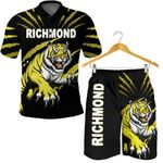 Combo Polo Shirt and Men Short Richmond Tigers  | Rugbylife.co