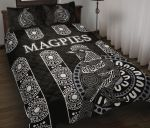 Magpies Quilt Bed Set Aboriginal