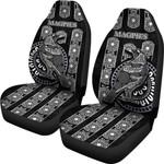 Magpies Car Seat Covers Aboriginal TH4