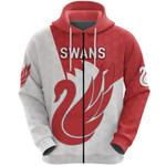 Sydney Zip Hoodie Swans