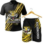 Combo Polo Shirt and Men Short Richmond Tigers