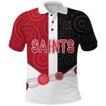 Saints Polo Shirt Indigenous
