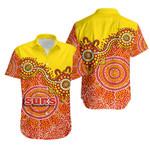 Gold Coast Hawaiian Shirt Sun Aboriginal
