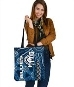 Carlton Blues Tote Bag Aboriginal TH4