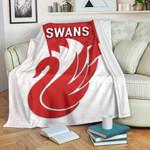 Sydney Premium Blanket Swans K8