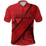 Essendon Polo Shirt Indigenous Bombers - Red