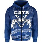 Cats Zip-Hoodie Aboriginal