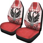 Sydney Car Seat Covers Indigenous Swans