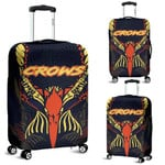 Adelaide Luggage Covers Simple Indigenous Crows