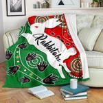 Rabbitohs Forever Premium Blanket Indigenous K4