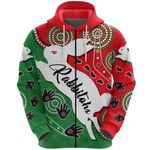 Rabbitohs Forever Zip Hoodie Indigenous | Rugbylife.co