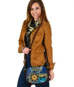 Parramatta Leather Saddle Bag Eels Indigenous K4