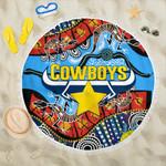 Cowboys Indigenous Beach Blanket K4