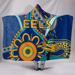 Parramatta Hooded Blanket Eels Indigenous K4