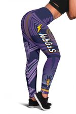 Storm Women Leggings Simple Indigenous - Purple