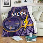Storm Premium Blanket Simple Indigenous - Purple
