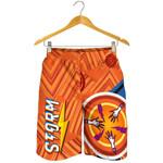 Storm Men Shorts Simple Indigenous - Orange