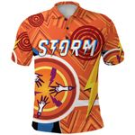 Storm Polo Shirt Simple Indigenous - Orange