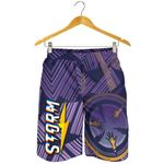 Storm Men Shorts Simple Indigenous - Purple