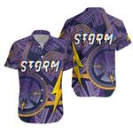 Storm Hawaiian Shirt Simple Indigenous - Purple