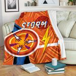 Storm Premium Blanket Simple Indigenous - Orange