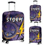 Storm Luggage Covers Simple Indigenous - Purple