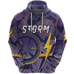 Storm Hoodie Simple Indigenous - Purple