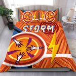 Storm Bedding Set Simple Indigenous - Orange
