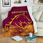 Brisbane Premium Blanket Broncos Indigenous K8