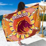 Brisbane Sarong Broncos Indigenous Warm Vibes K8