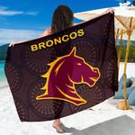 Brisbane Sarong Broncos Simple Indigenous K8