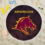 Brisbane Beach Blanket Broncos Simple Indigenous K8
