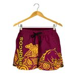 Brisbane Women Shorts Broncos Indigenous