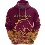 Brisbane Hoodie Broncos Indigenous