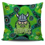 Canberra Pillow Cover Raiders Viking Indigenous K8