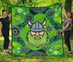 Canberra Premium Quilt Raiders Viking Indigenous K8
