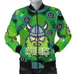 Canberra Bomber Jacket Raiders Viking Indigenous For Men K8
