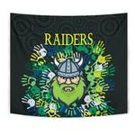 Canberra Tapestry Raiders Viking Simple Indigenous K8