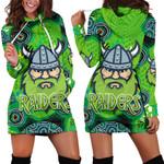 Canberra Hoodie Dress Raiders Viking Indigenous K8