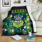 Canberra Premium Blanket Raiders Viking Simple Indigenous K8