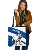 Bulldogs Tote Bag Sporty Style K8