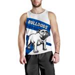Bulldogs Men Tank Top Sporty Style