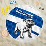 Bulldogs Beach Blanket Sporty Style K8