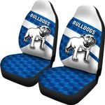 Bulldogs Car Seat Covers Sporty Style