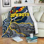 Cowboys Premium Blanket Unique Indigenous