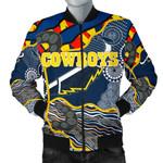 Cowboys Men's Bomber Jacket Unique Indigenous K8